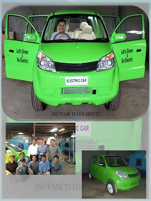 AHMADI MeSIN: Mobil Listrik Ramah Lingkungan