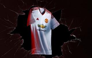 Manchester United Rilis Jersey Away Terbaru 2015