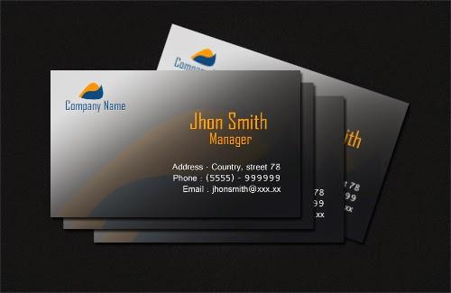 Free PSD : Business Card