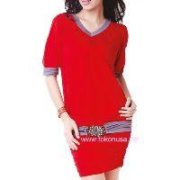 Dress Merah merk X2X
