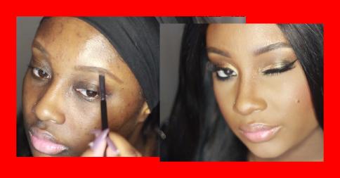 Prévia do vídeo que ensina um lindo tutorial de maquiagem.