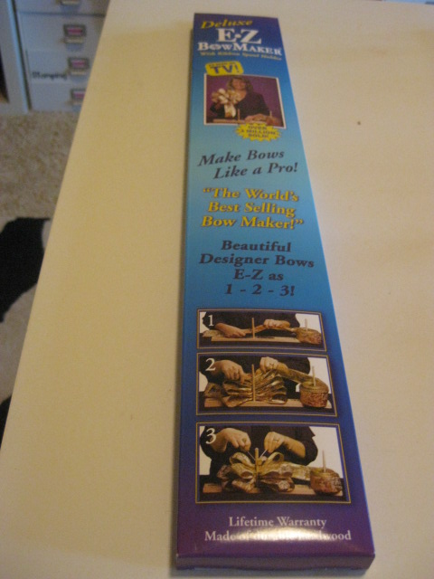 ez bow maker instructions