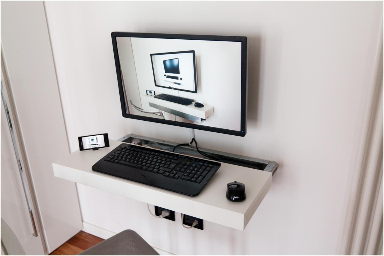 mini pc float-and-slide desk | ikea hackers | bloglovin'