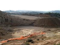 Vista panoràmica de la pedrera de la Roca dels Plans