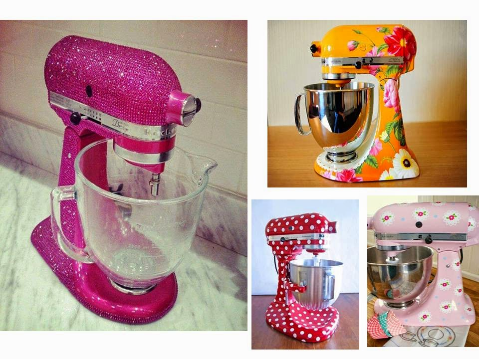 Colorful kitchen machine
