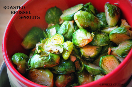 Sumee's Culinary Bites: Roasted Brussel Sprouts