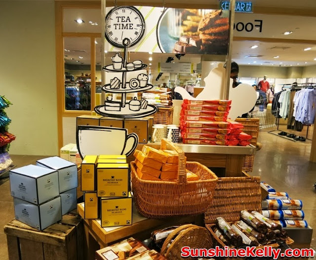Marks & Spencer, Suria KLCC, shopping mall, kuala lumpur, english tea, tea time delicacies, food, tea, biscuits