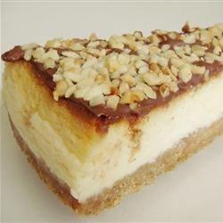 Sunday Scrappin: Cheese - Easy Sour Cream Cheesecake