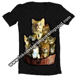 kaos-desain-distro-gambar-kucing-cats