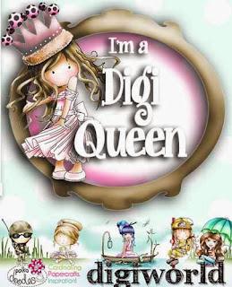 Digi Queen at Polkadoodles