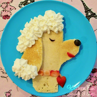 poodle pancakes by Kitchen Fun with My 3 Sons