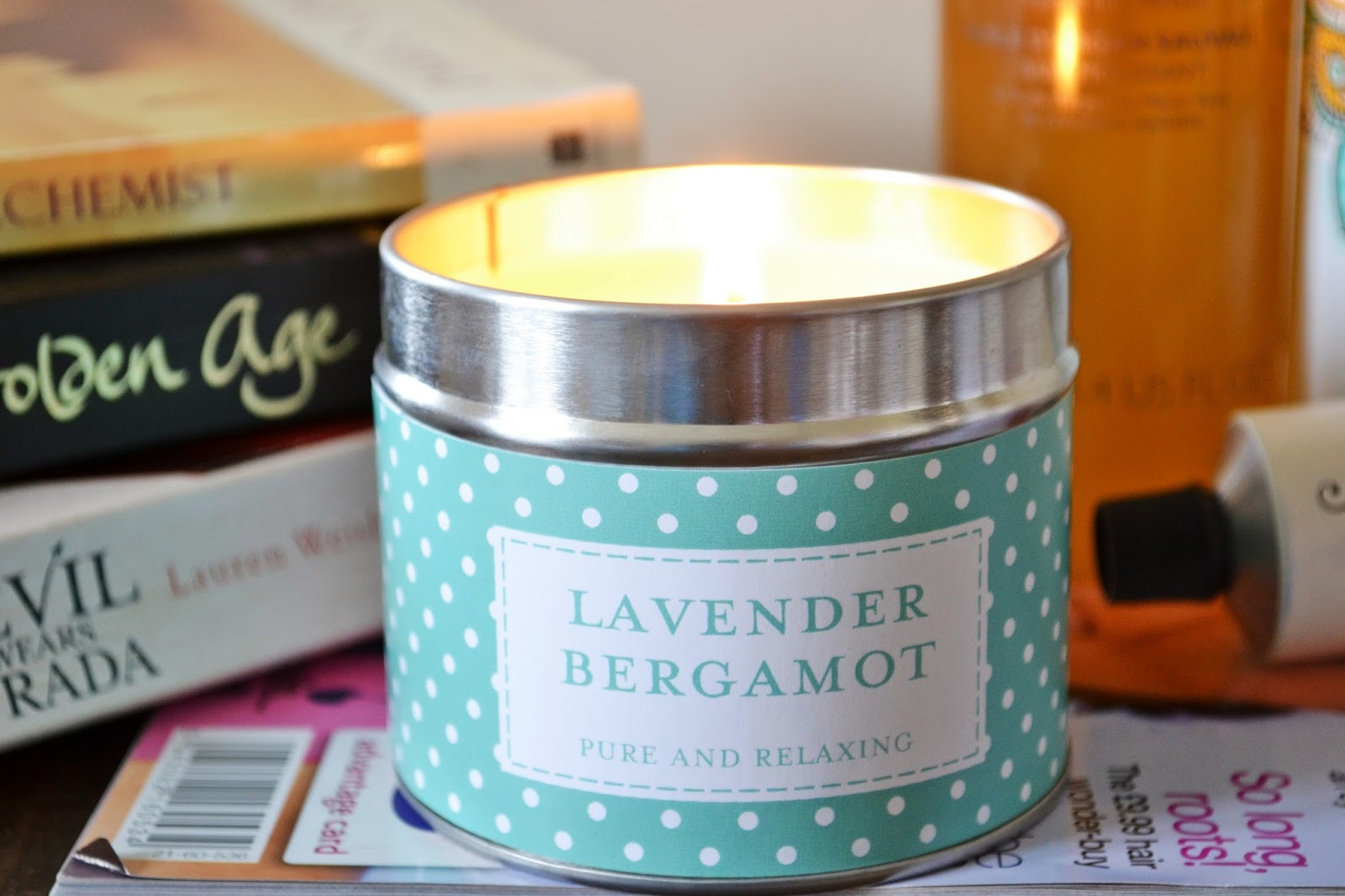 Relaxing Pamper Session The Country Candle Lavender & Bergamot - Aspiring Londoner