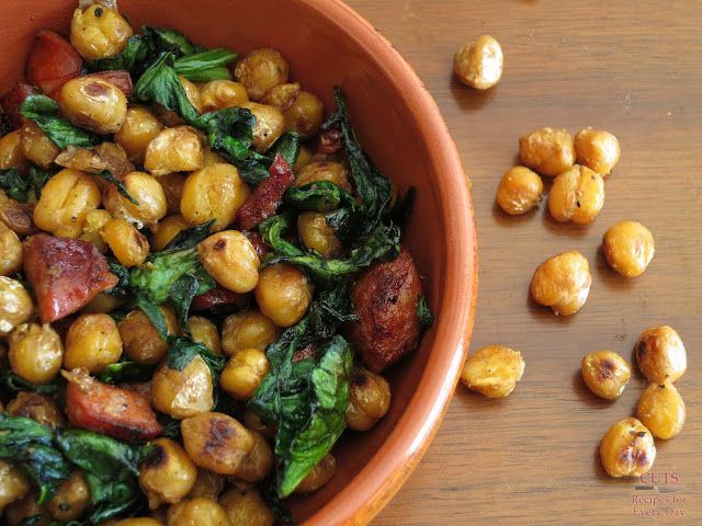 broiled chickpeas