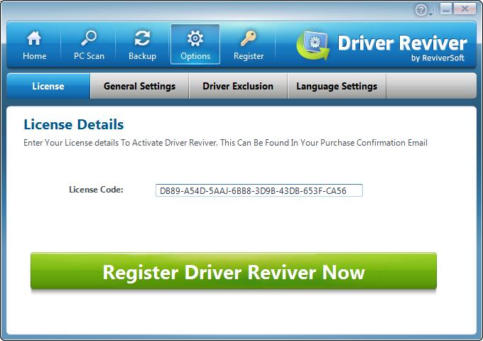 computer license key registry reviver