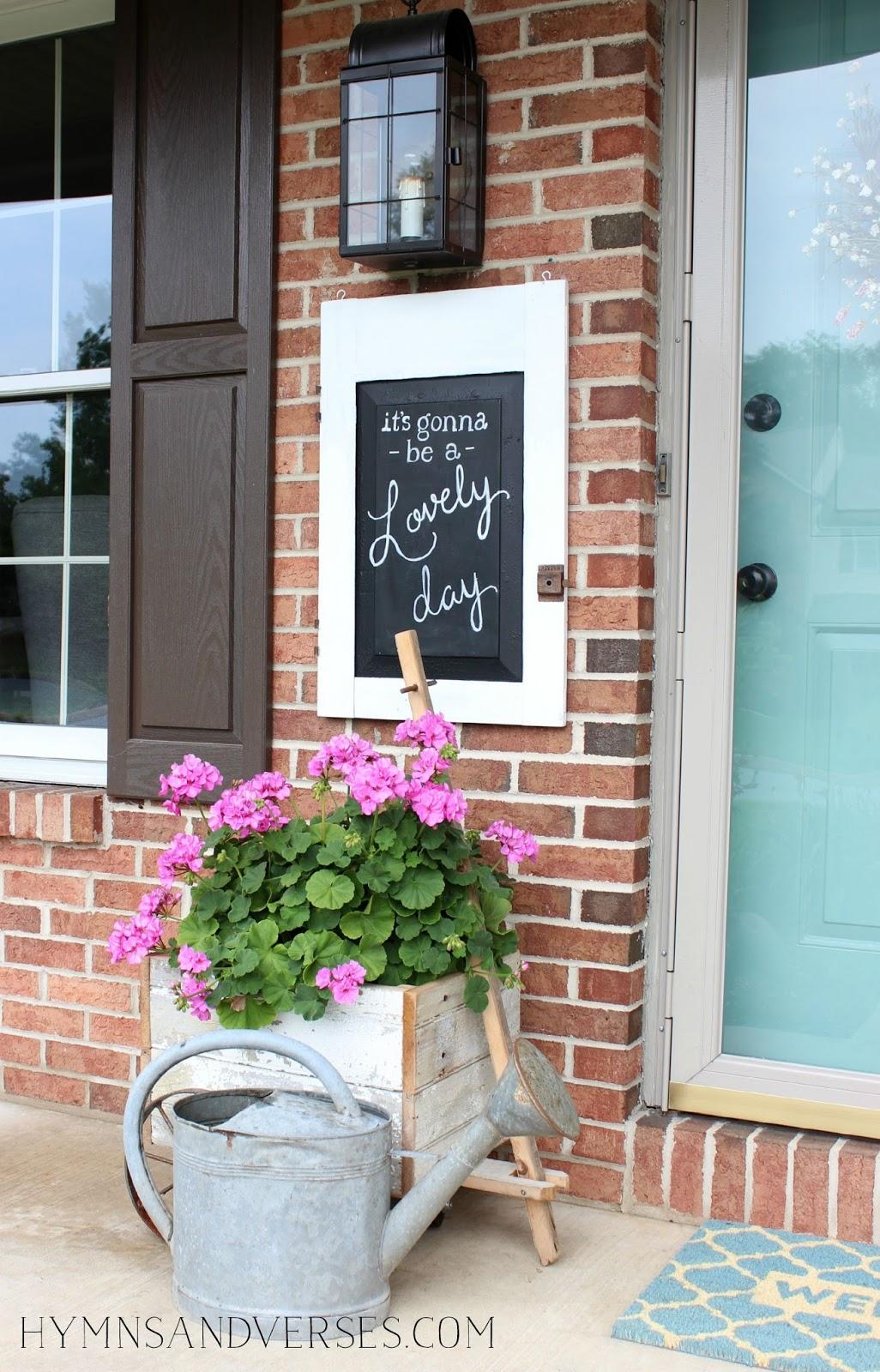 Summer Front Door - \