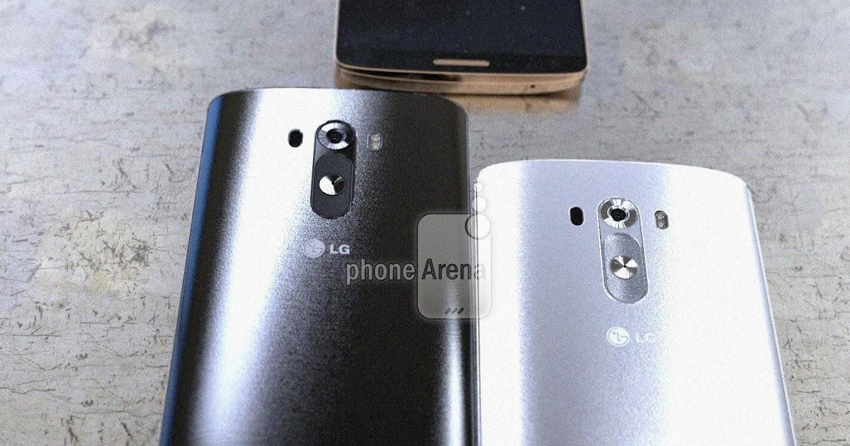 SoftTechInformed: New Image Leak Of LG G3, Shows Brushed Backs