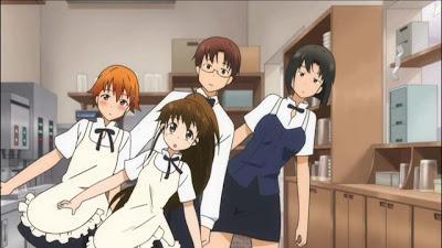 Working!! Anime second season segunda temporada