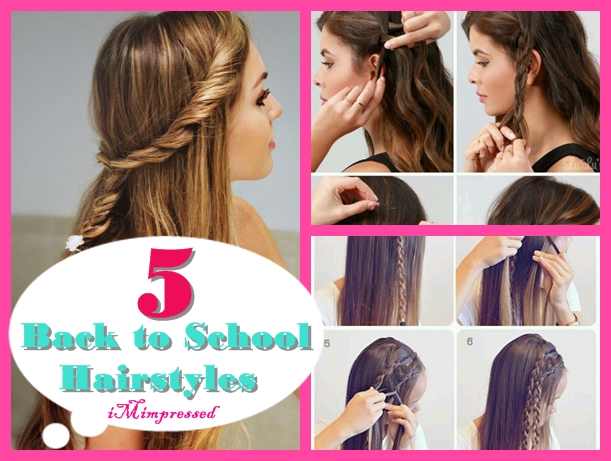 5 BACK TO SCHOOL/COLLEGE HAIRSTYLES FOR GIRLS | iMimpressed