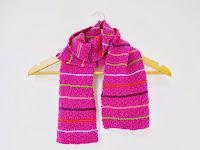 Child's scarf pattern - buy from Ravelry  //  Σχεδιο για παιδικο κασκολ - αγορα μεσω Ravelry €0,99