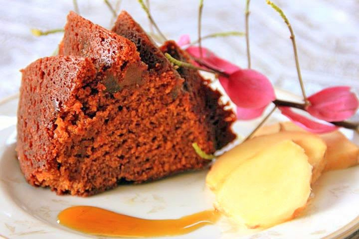 Dark Ginger Cake