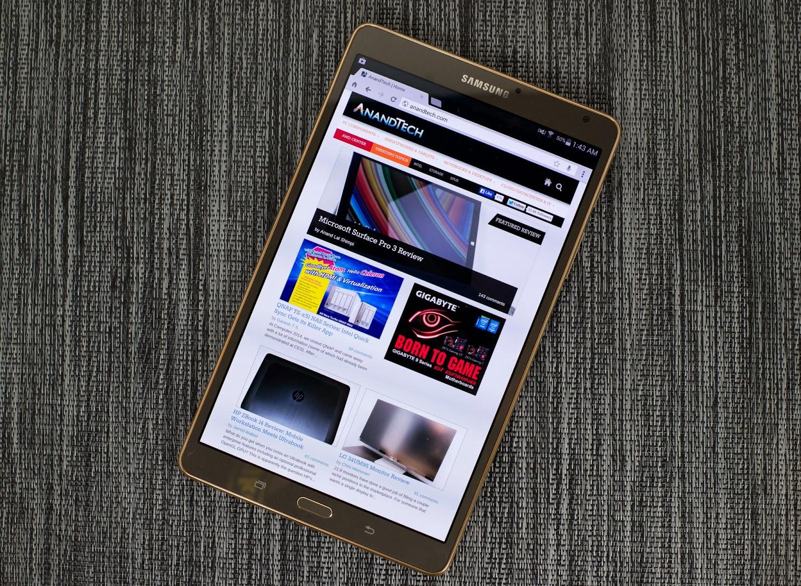 Samsung Galaxy Tab terbaru