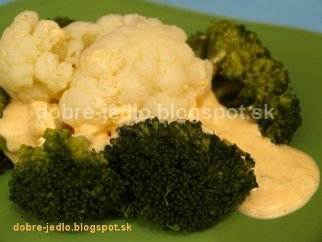 Brokolica a karfiol s tvarohovou majonézou - recepty