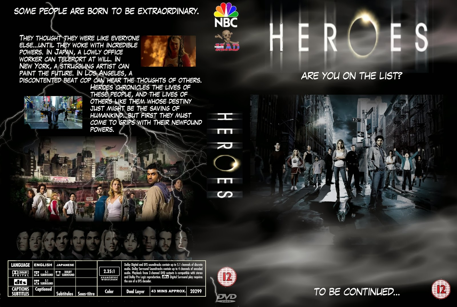 Help with a essay on heroes (tv show)?