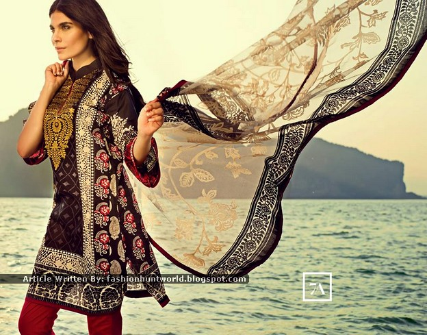 Sana Safinaz Summer Lawn Magazine / Look-Book