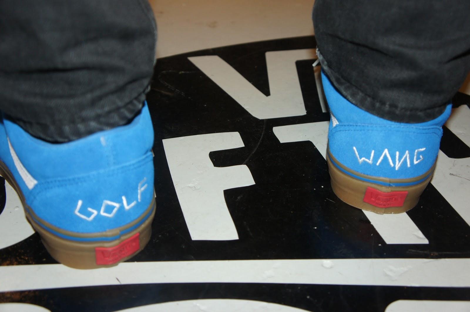 Vans Golf Wang On Feet