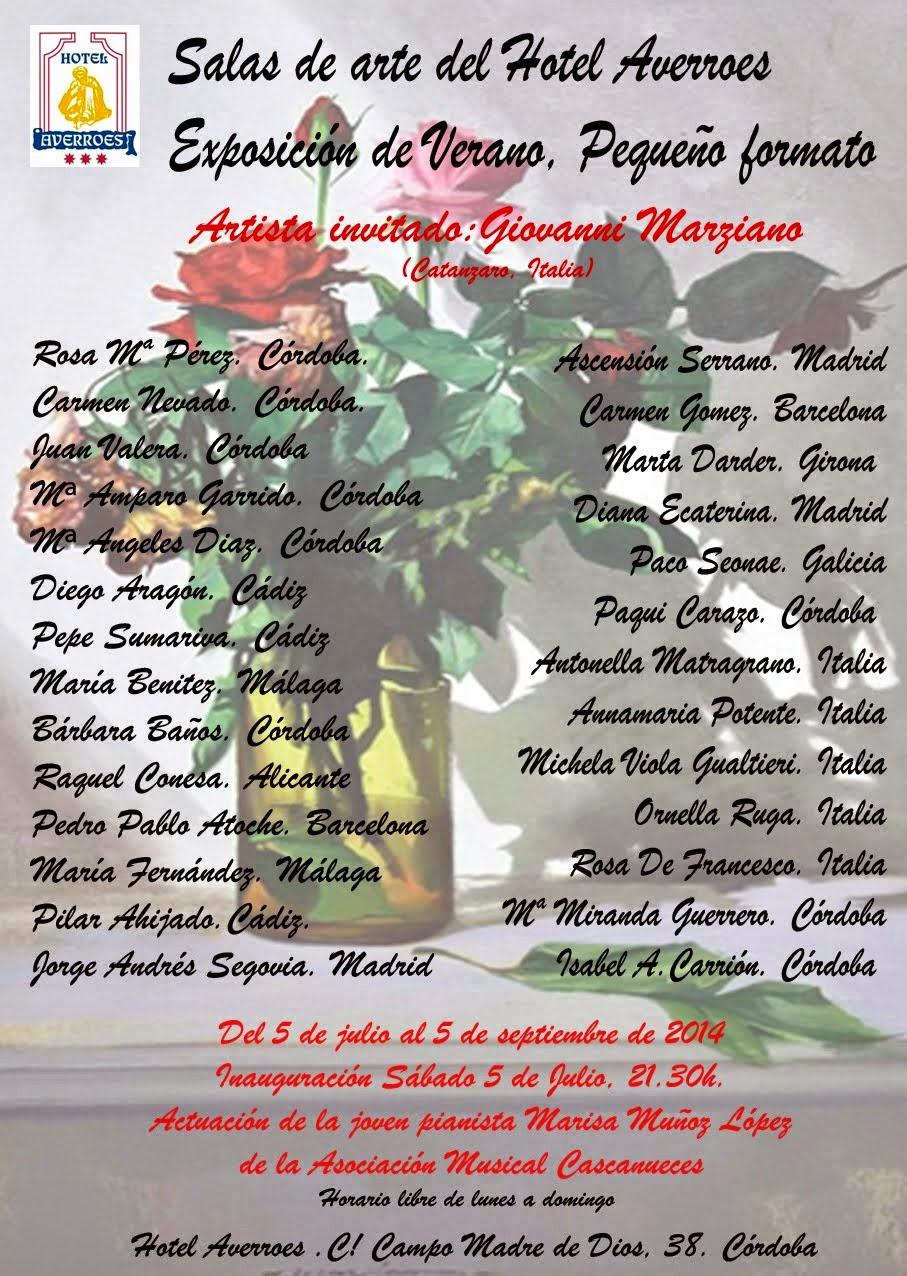 Exposición Colectiva Pequeño formato Hotel Averroes.