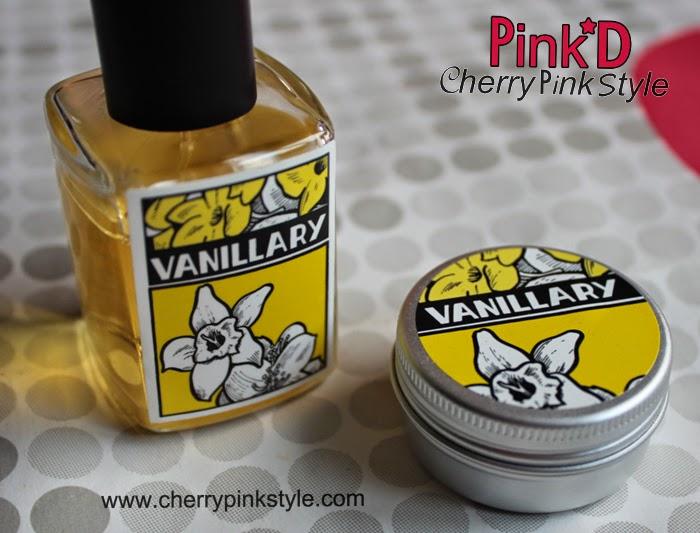 Perfume de vainilla