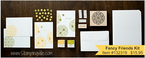 Stampin' Up! Fancy Friend Kit