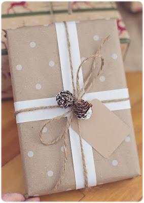DIY ideas para envolver regalos de Navidad