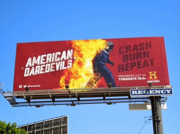 American Daredevils History billboard
