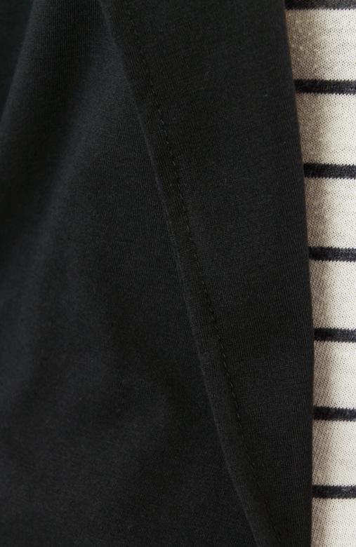 Drape Blazer Cardi - Black