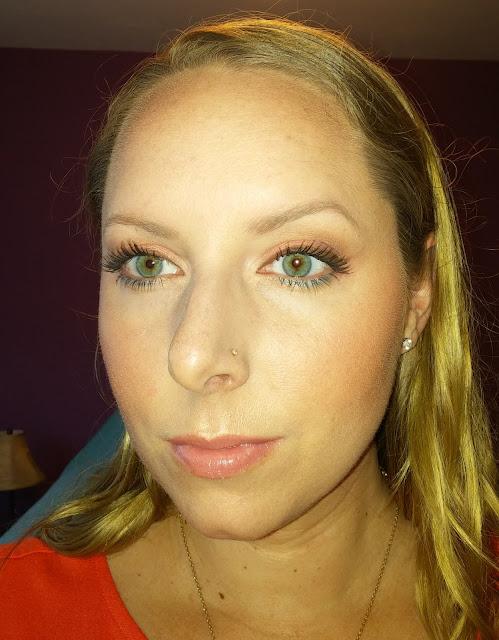 Summer eyeshadow