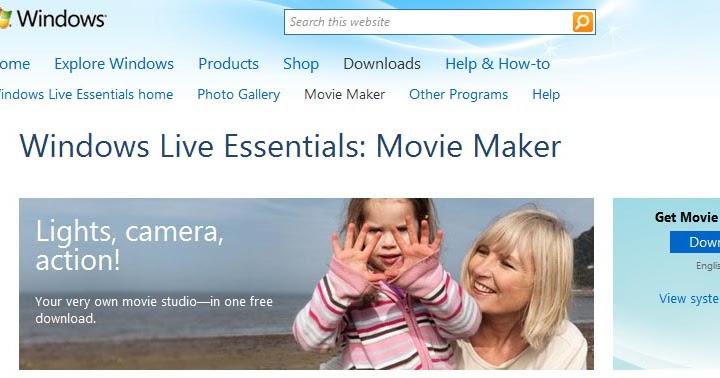 Studio238: Windows Movie Maker