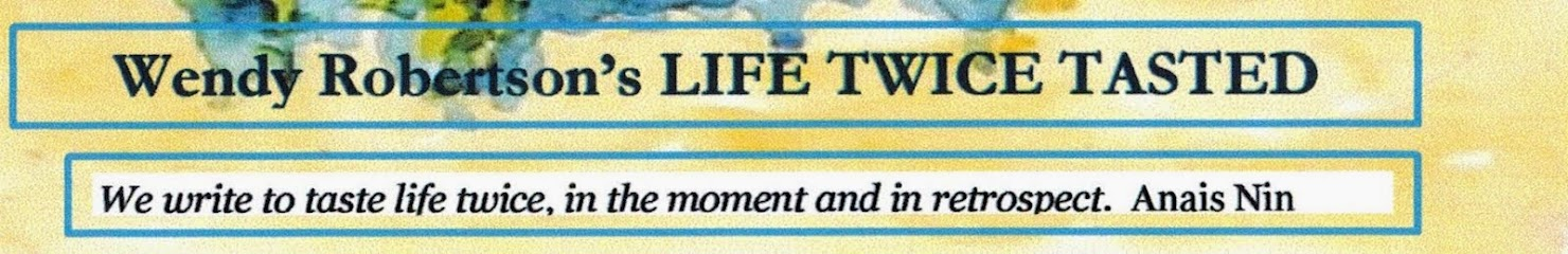Writing Life Twice Tasted
