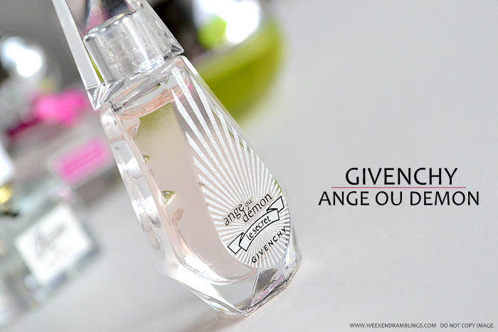Perfumes for Women Must Have Best Top 5 Fruity Floral Fragrances Blog Picks Reviews For Spring Summer Givenchy Ange ou Demon Le Secret EDP eau de Parfum Spray