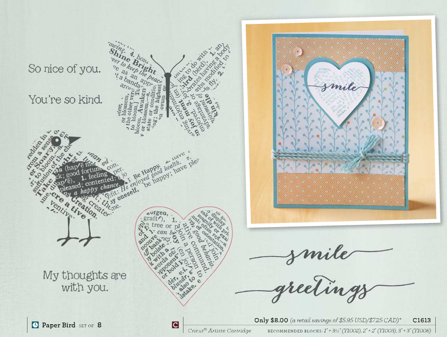 paper bird stamp set