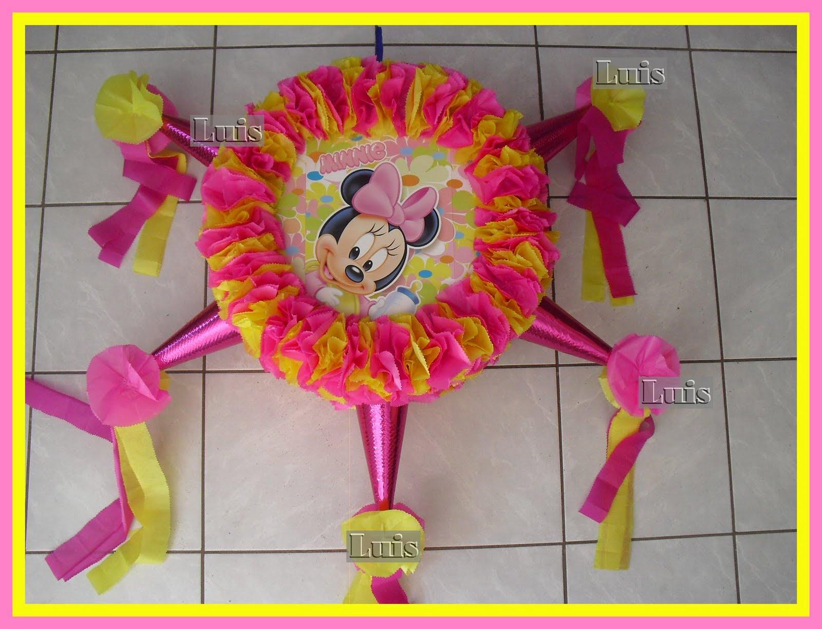 Piñatas de Minnie bebé - Imagui