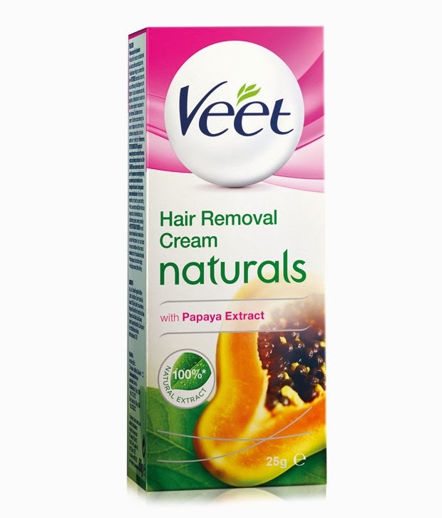 in your veet naturals hair removal