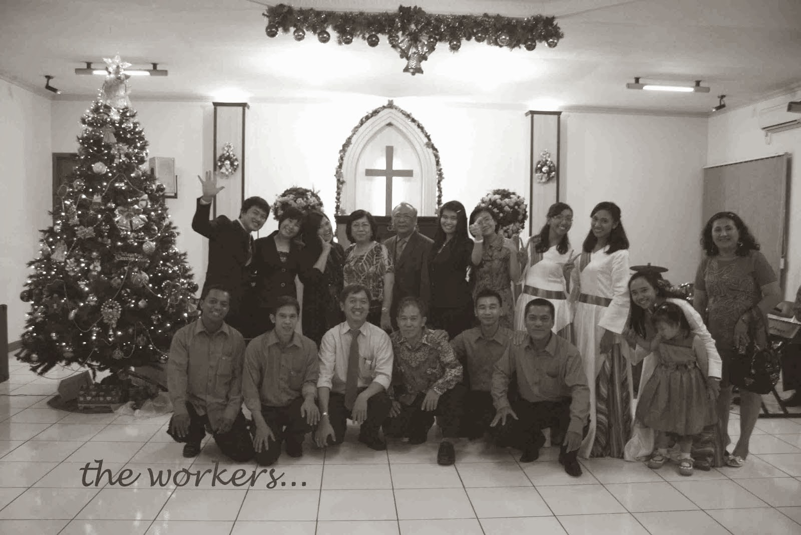 Tim work Panitia Natal 2013