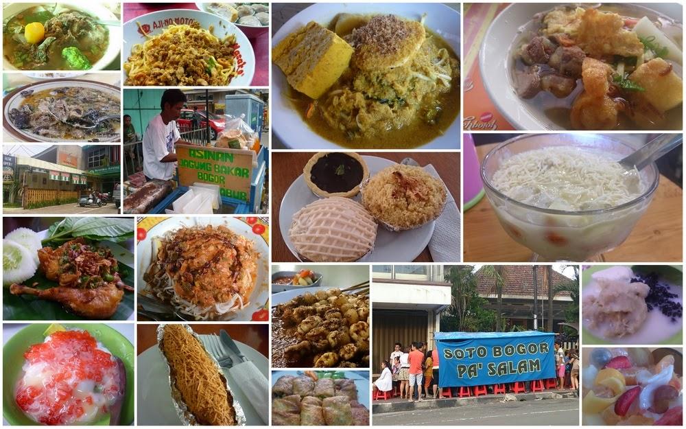 Lima Titik Pusat Kuliner Bogor