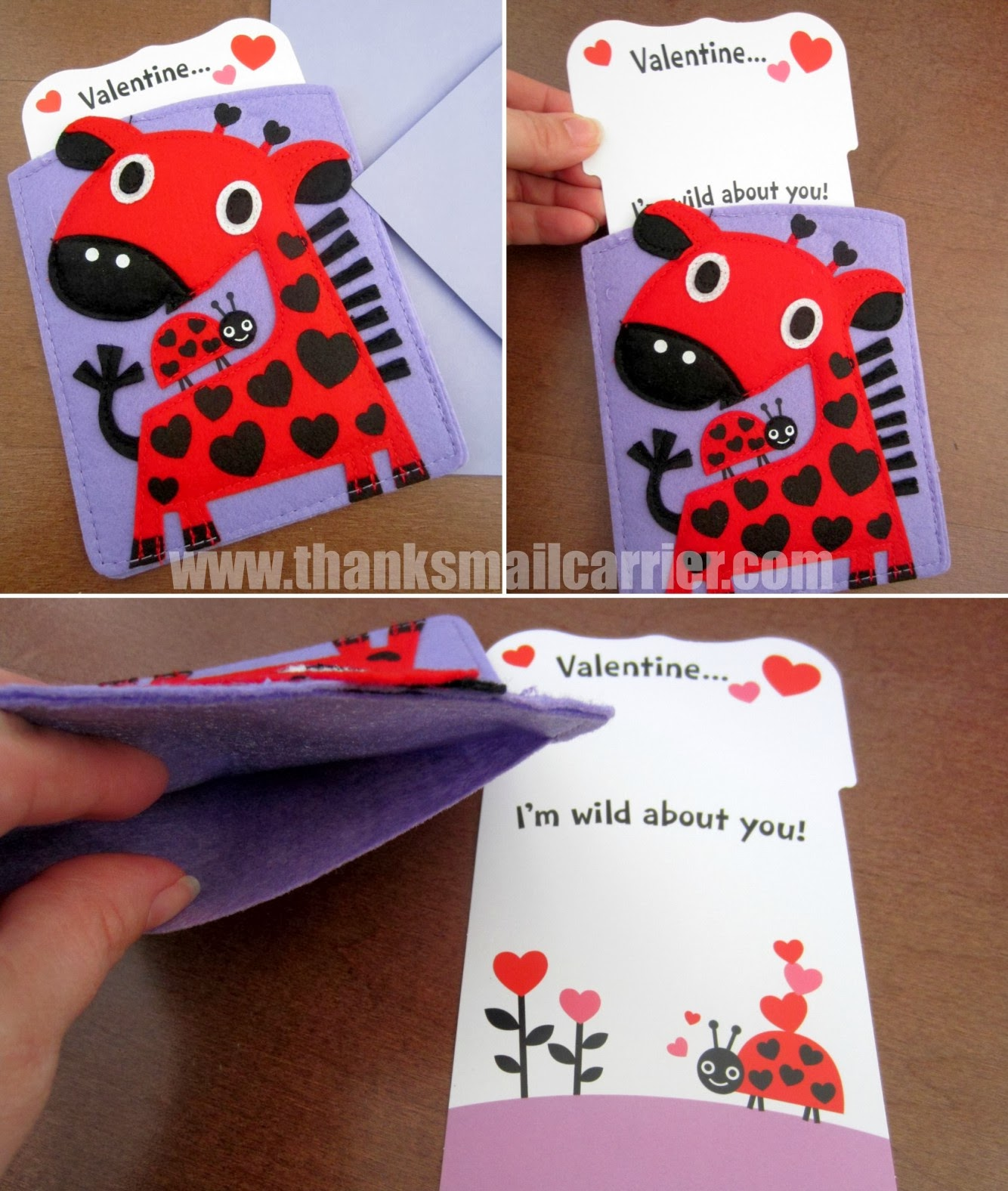 Thanks Mail Carrier – Hallmark Valentine Cards