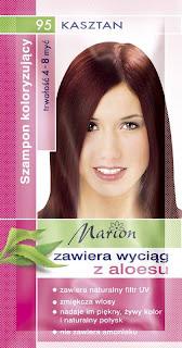 szamponetka marion - kasztan 4-8 myć