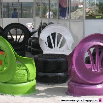 How to recycle awesome uses of old tires - What to make with old tires ...