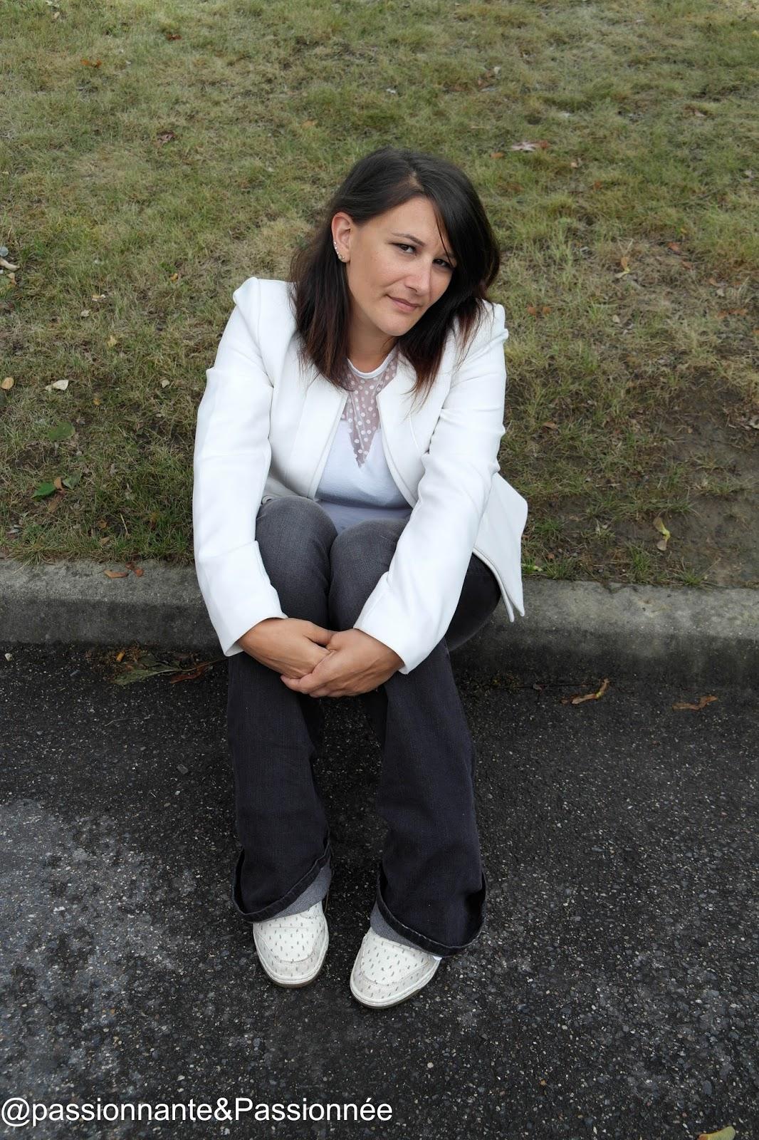 blazer blanc vero moda