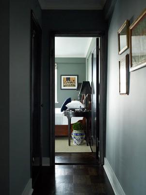 nyc penthouse hallway