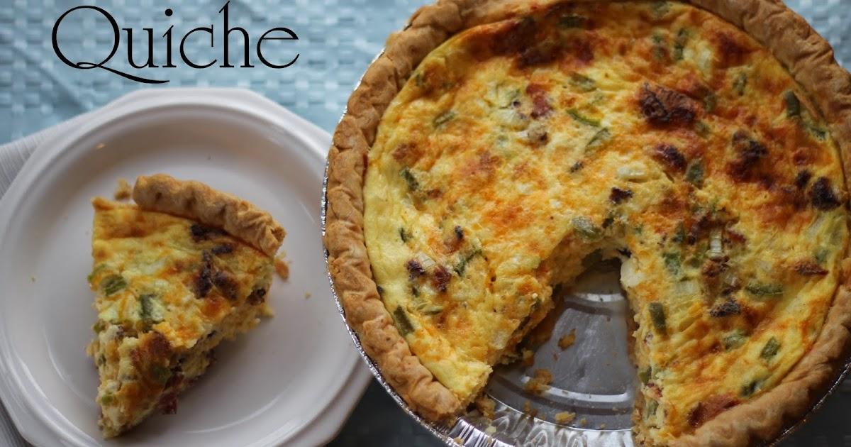 mom mart how to make a quiche quick easy quiche recipe. Black Bedroom Furniture Sets. Home Design Ideas